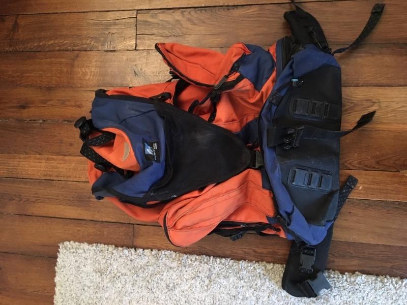 Recyclage, Récupe & Don d'objet : gros sac à dos