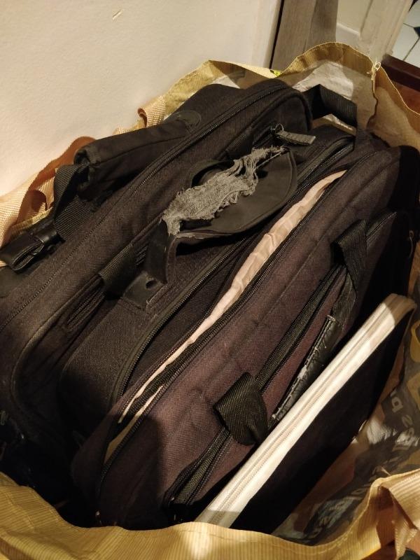 Recyclage, Récupe & Don d'objet : sacoches d'ordinateur portable