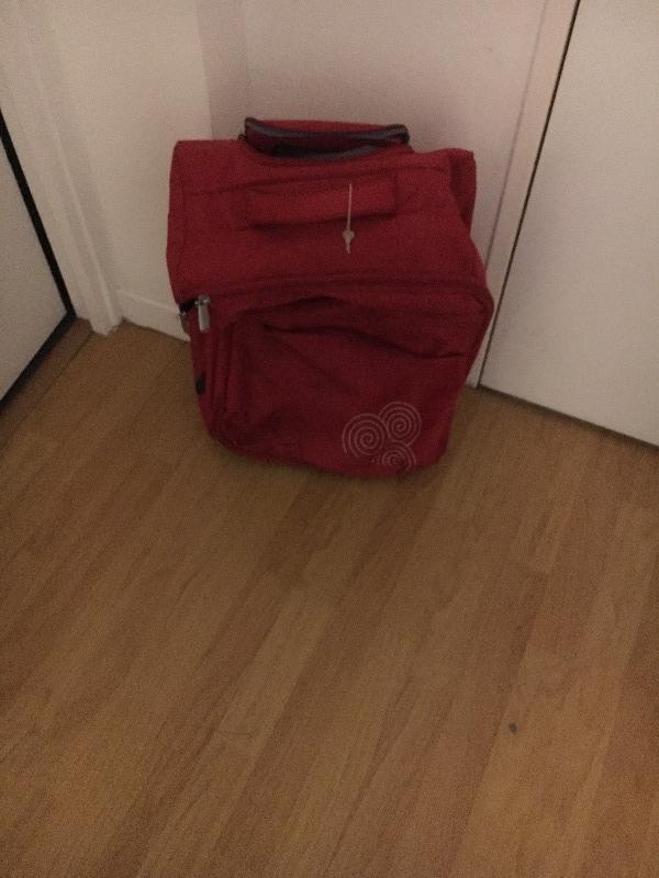 Recyclage, Récupe & Don d'objet : petite valise de voyage
