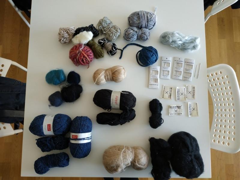 Recyclage, Récupe & Don d'objet : restes de laine