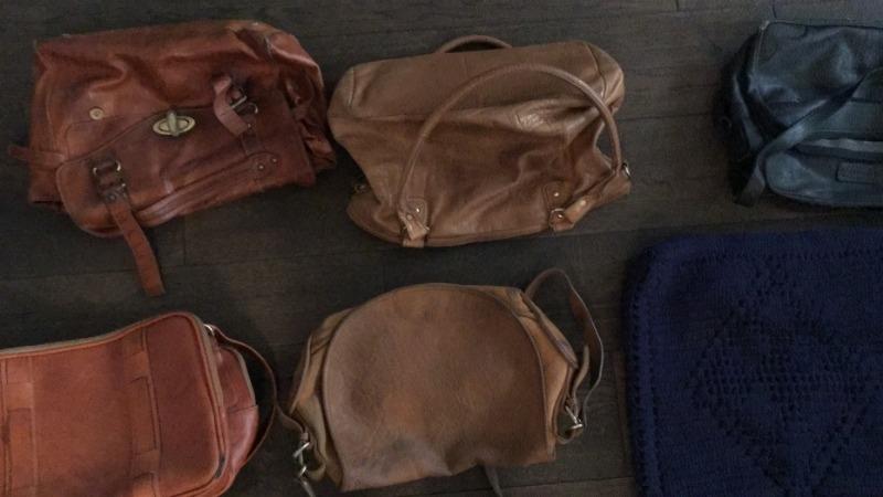 Recyclage, Récupe & Don d'objet : sacs à main