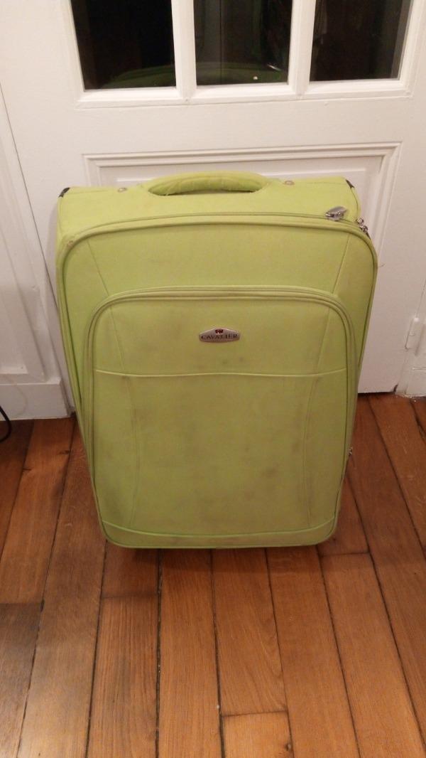 Recyclage, Récupe & Don d'objet : bagage de voyage