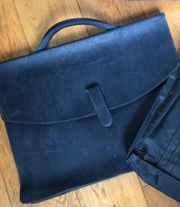Recyclage, Récupe & Don d'objet : sacoche pour dossier- documents