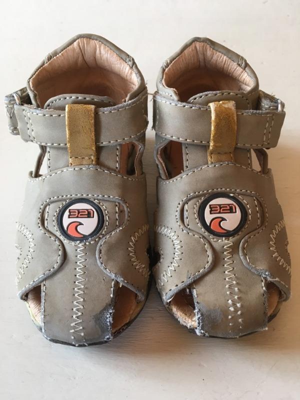 Recyclage, Récupe & Don d'objet : chaussures été garçon taille 20