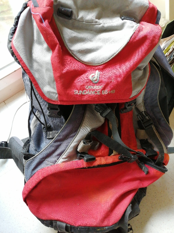 Recyclage, Récupe & Don d'objet : sac à dos