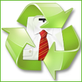 Recyclage, Récupe & Don d'objet : ensemble bleu ciel ( jupe , veste courte)