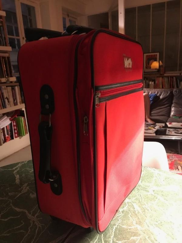Recyclage, Récupe & Don d'objet : valise cabine à roulettes