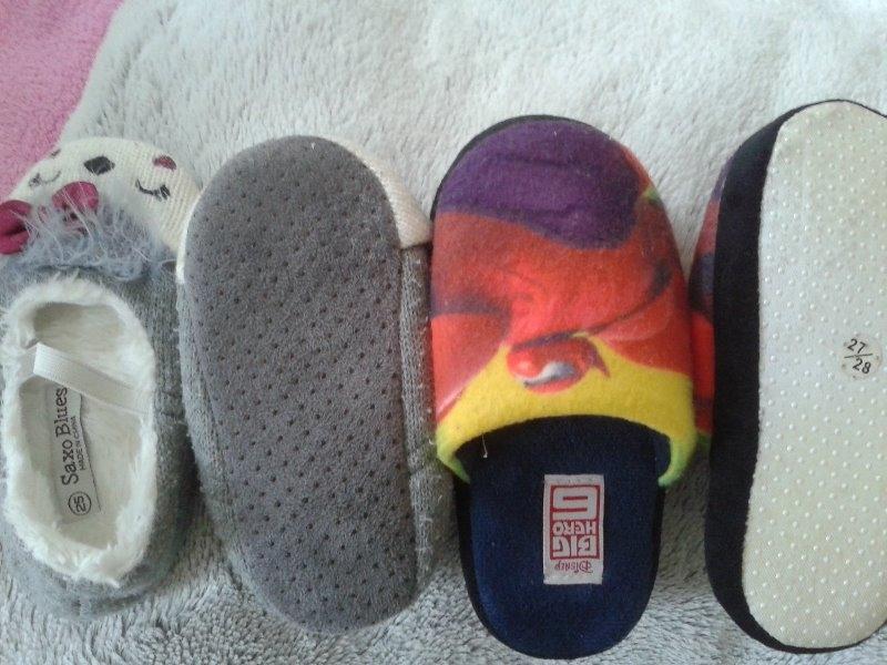 Recyclage, Récupe & Don d'objet : chaussons enfants