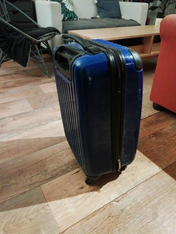 Recyclage, Récupe & Don d'objet : valise taille cabine à roulette