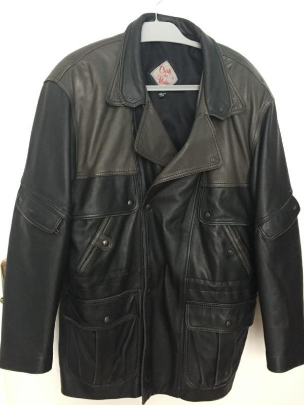 Veste en cuir - Vêtements