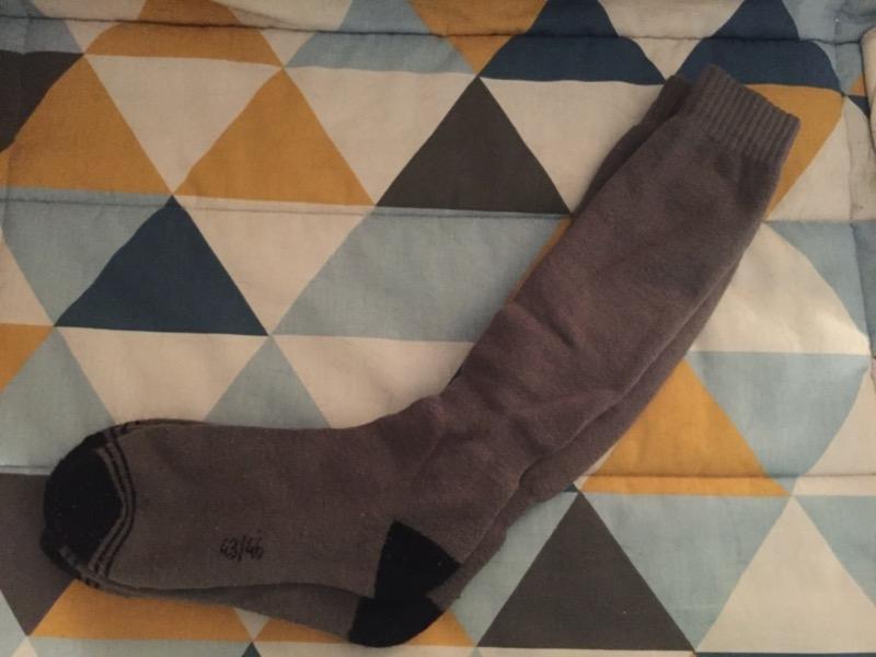 Recyclage, Récupe & Don d'objet : 2 paires de chaussettes hautes 43-46