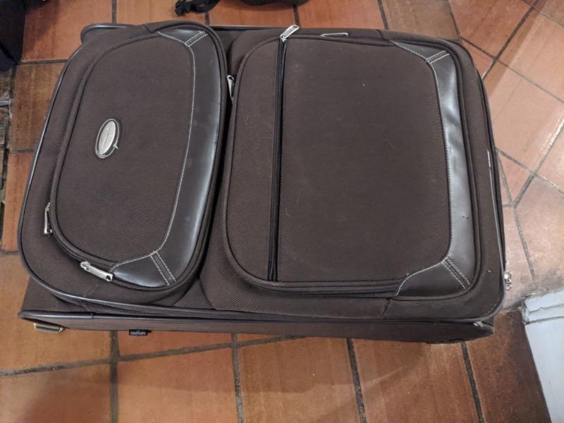 Recyclage, Récupe & Don d'objet : valise samsonite