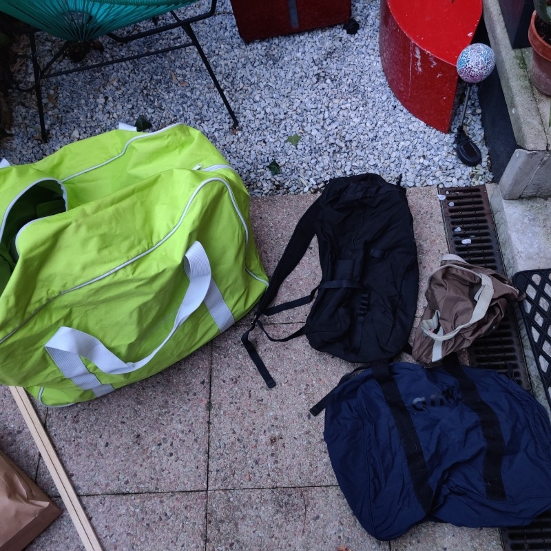 Recyclage, Récupe & Don d'objet : sac