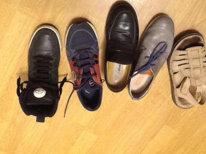 Recyclage, Récupe & Don d'objet : chaussure homme
