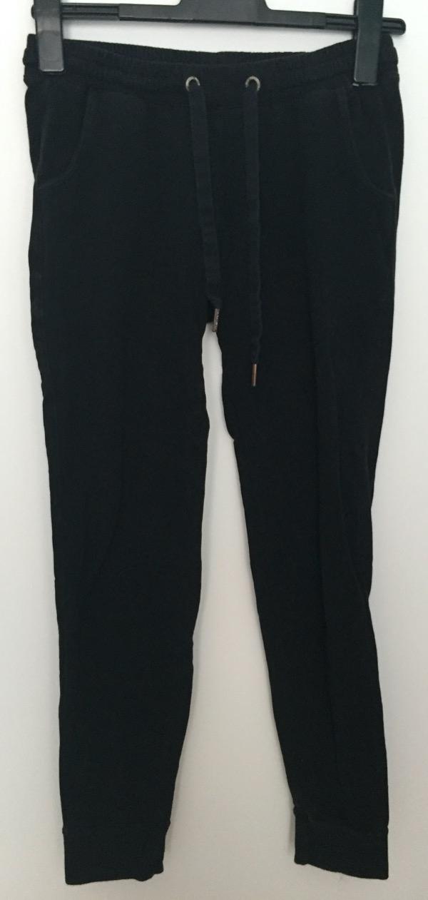 Recyclage, Récupe & Don d'objet : pantalon jogging noir taille 38