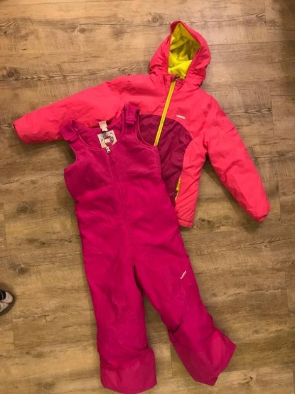 Recyclage, Récupe & Don d'objet : combinaison et bottes ski - enfant