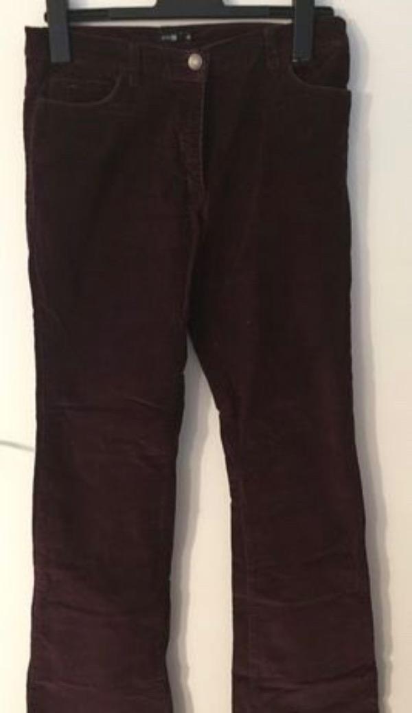 Recyclage, Récupe & Don d'objet : pantalon velours côtelé taille 40