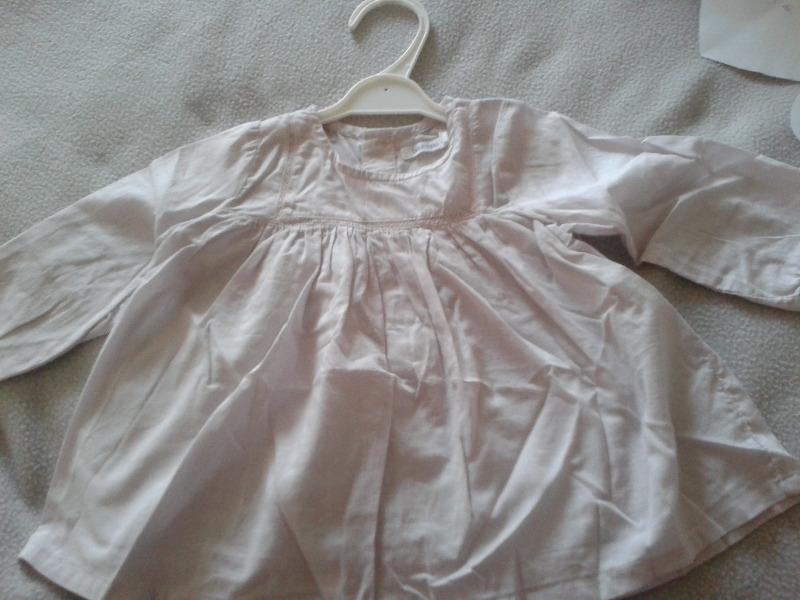 Recyclage, Récupe & Don d'objet : blouse fille 12 mois