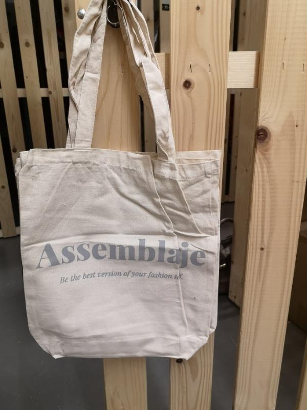 Recyclage, Récupe & Don d'objet : tote bag coton