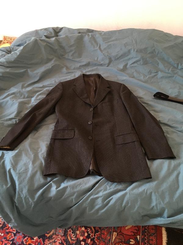 Recyclage, Récupe & Don d'objet : veste costume arrow t. 50