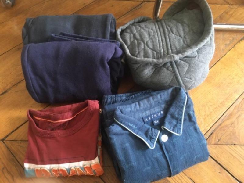 Recyclage, Récupe & Don d'objet : lot vêtements garçon 14-16 ans