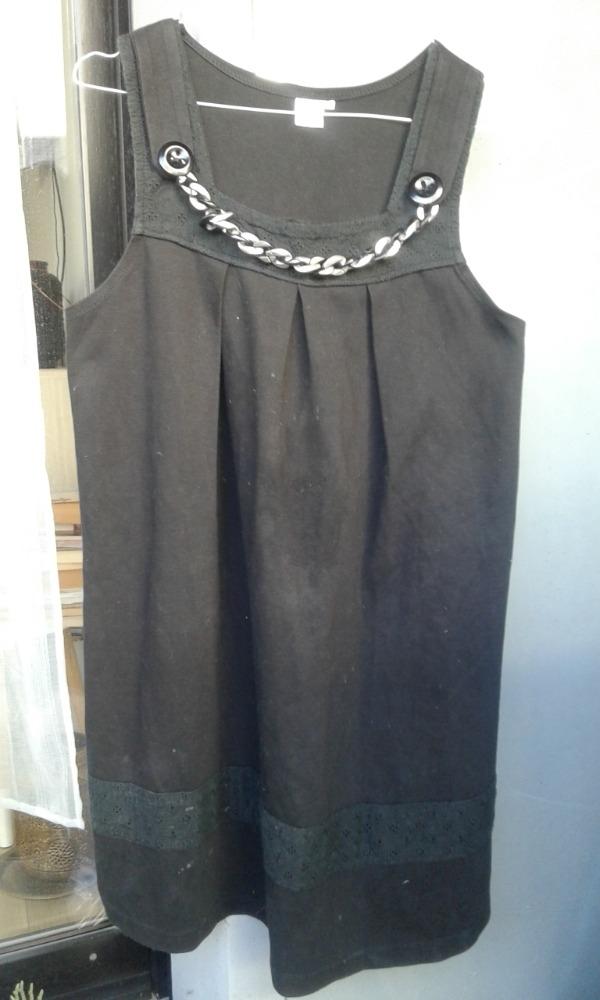 Recyclage, Récupe & Don d'objet : robe noir taille 40