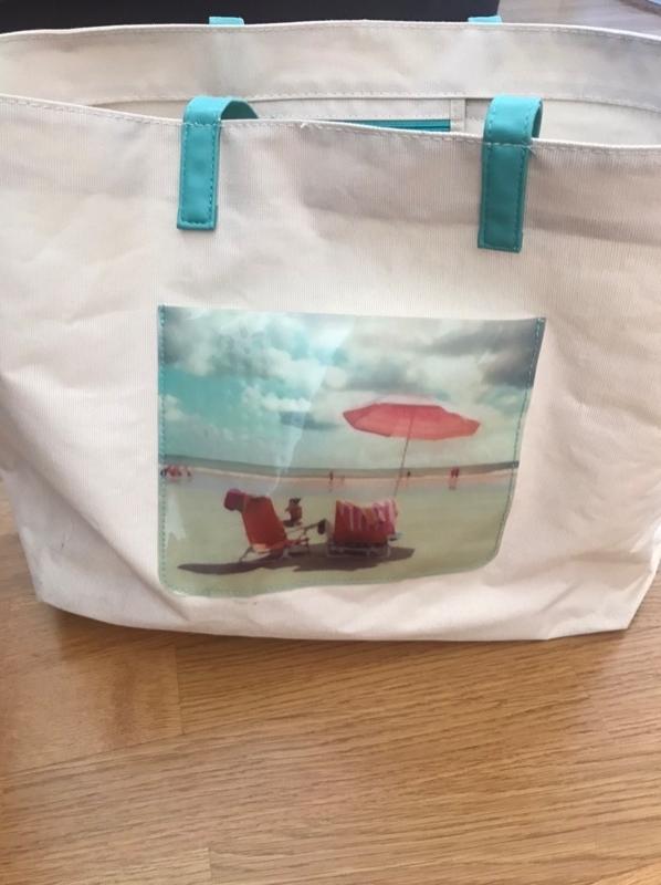 Recyclage, Récupe & Don d'objet : sac de plage
