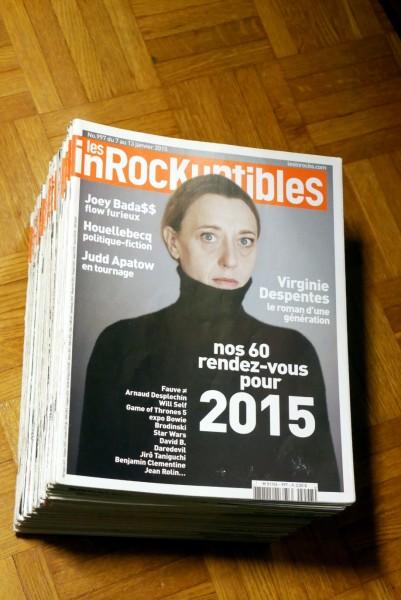 Recyclage, Récupe & Don d'objet : les inrocks, 2015