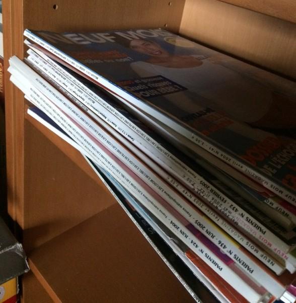 Recyclage, Récupe & Don d'objet : lot de revues féminines