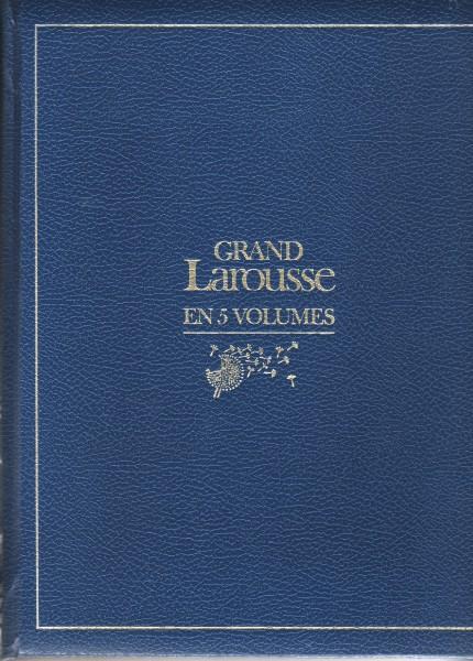 Recyclage, Récupe & Don d'objet : Dictionnaire grand larousse en 5 volumes
