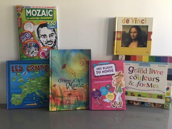 Recyclage, Récupe & Don d'objet : livres éveil/création enfant 5-8 ans
