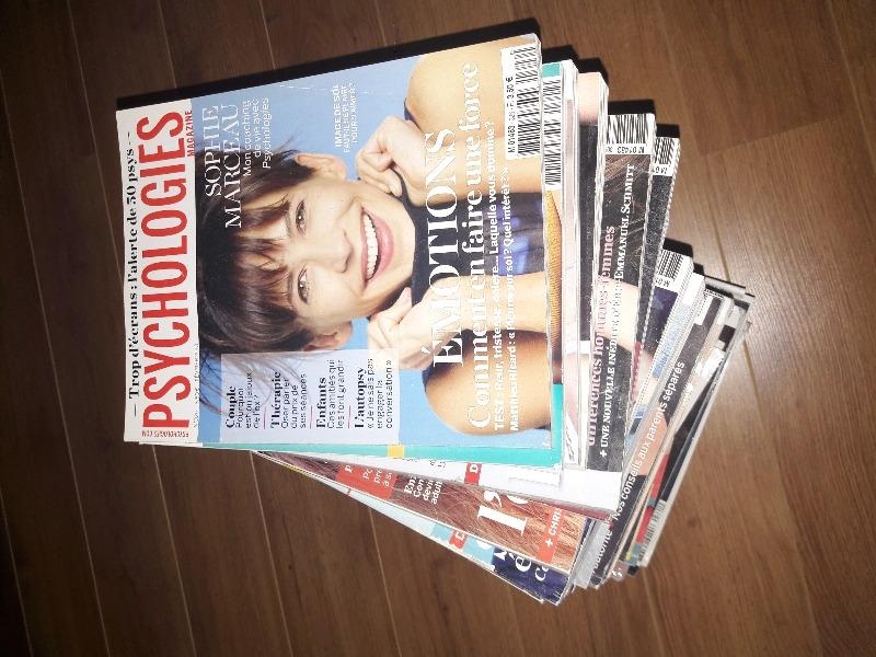 Recyclage, Récupe & Don d'objet : magazines psychologies