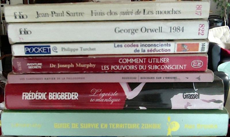 Recyclage, Récupe & Don d'objet : livres divers