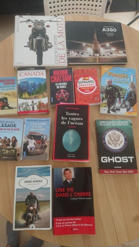 Recyclage, Récupe & Don d'objet : lot livres