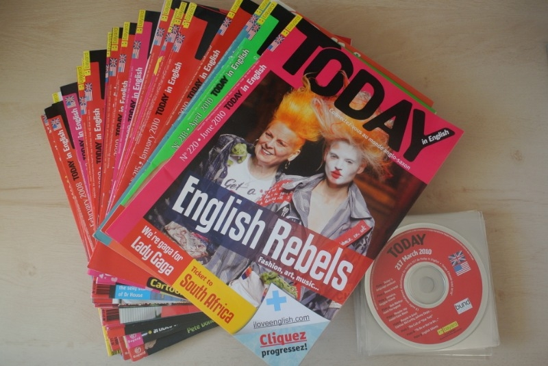 Recyclage, Récupe & Don d'objet : dizaines d'anciens magazines today (+ cds)...