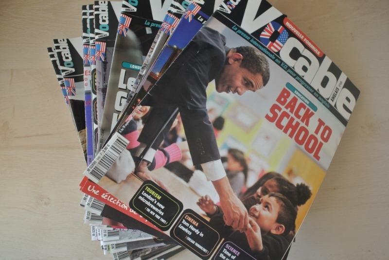 Recyclage, Récupe & Don d'objet : dizaines d'anciens magazines vocable pour ...