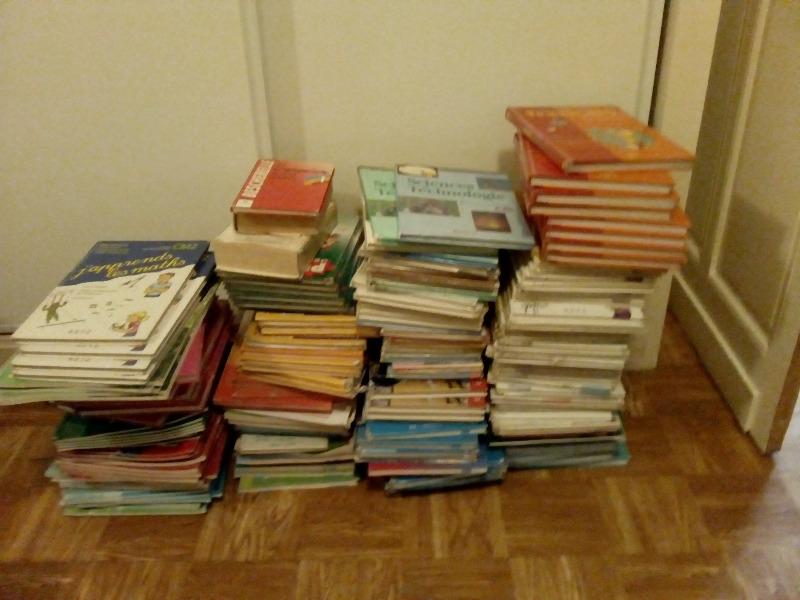 Recyclage, Récupe & Don d'objet : livres scolaires