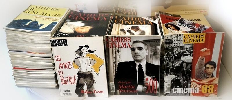Recyclage, Récupe & Don d'objet : collection des cahiers du cinéma