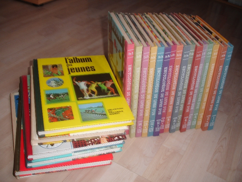 Recyclage, Récupe & Don d'objet : encyclopédie en 16 volumes (1960) pour jeu...