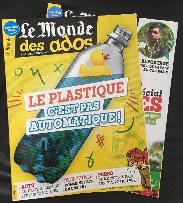 Recyclage, Récupe & Don d'objet : 3 magazines le monde des ados
