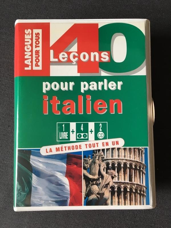 Recyclage, Récupe & Don d'objet : méthode italien 40 leçons avec cd