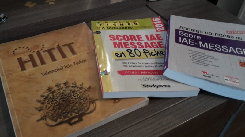 Recyclage, Récupe & Don d'objet : livres d'étude voir photo