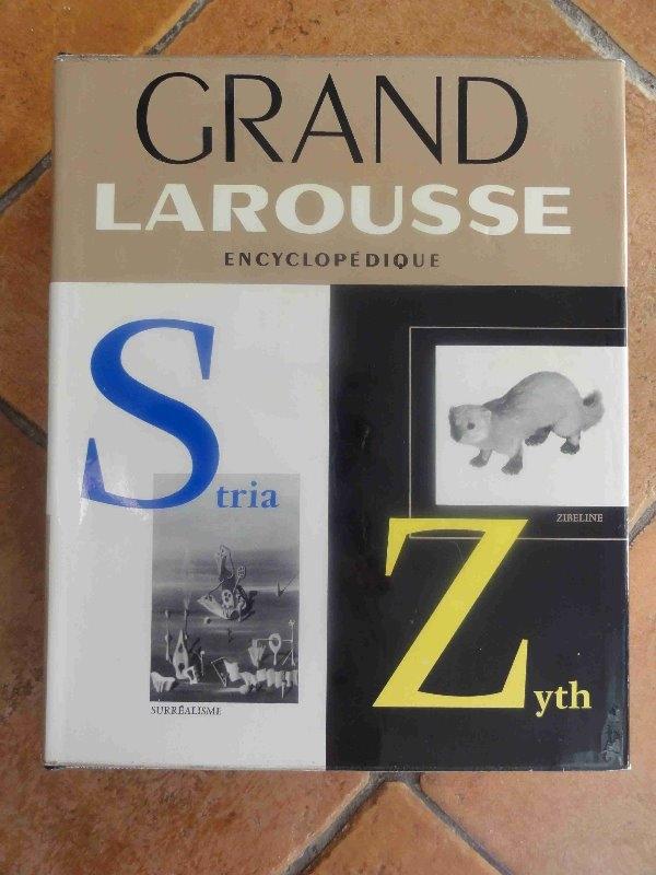 Recyclage, Récupe & Don d'objet : grande larousse encyclopédique en 11 volumes