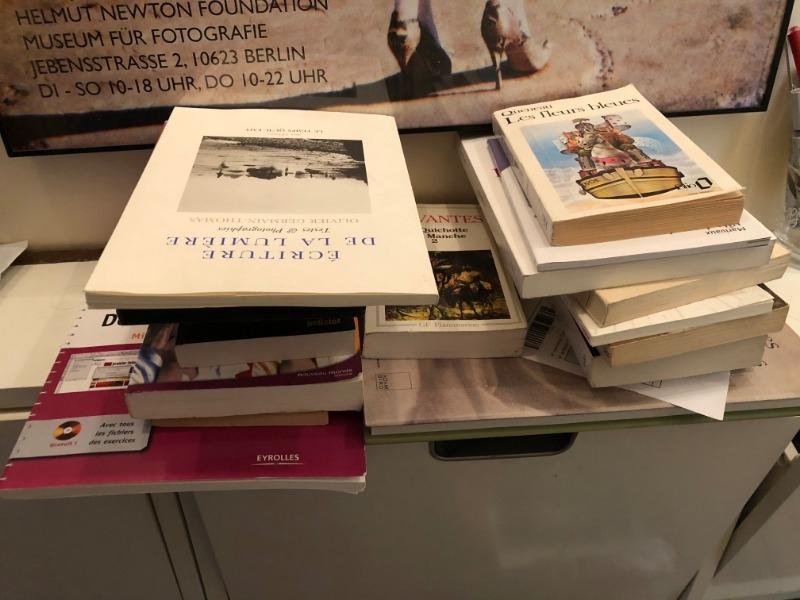 Recyclage, Récupe & Don d'objet : lots de livres et dvd