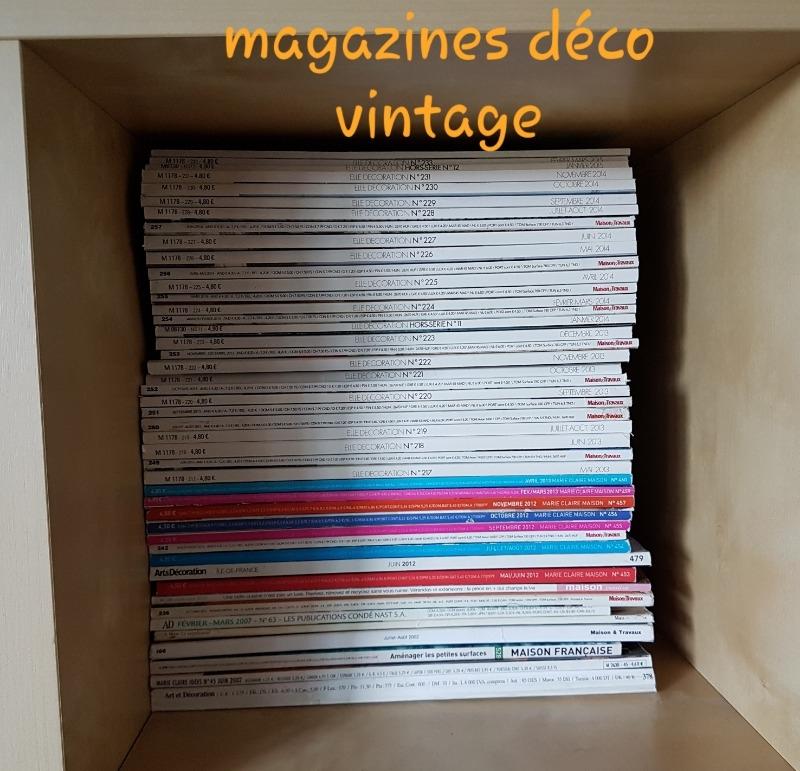 Recyclage, Récupe & Don d'objet : magazines de décoration