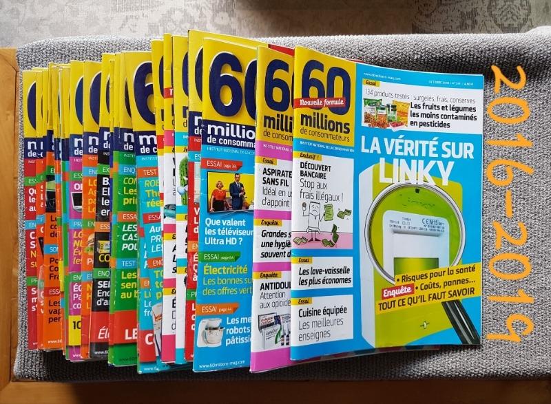 Recyclage, Récupe & Don d'objet : magazine 60 millions de consommateurs