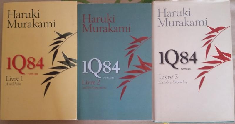 Recyclage, Récupe & Don d'objet : trilogie de livres 1q84 d'haruki murakami
