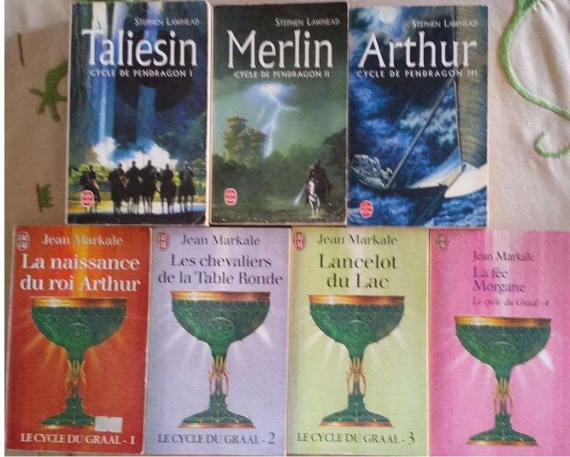 Recyclage, Récupe & Don d'objet : 7 romans arthuriens de stephen lawheah et ...