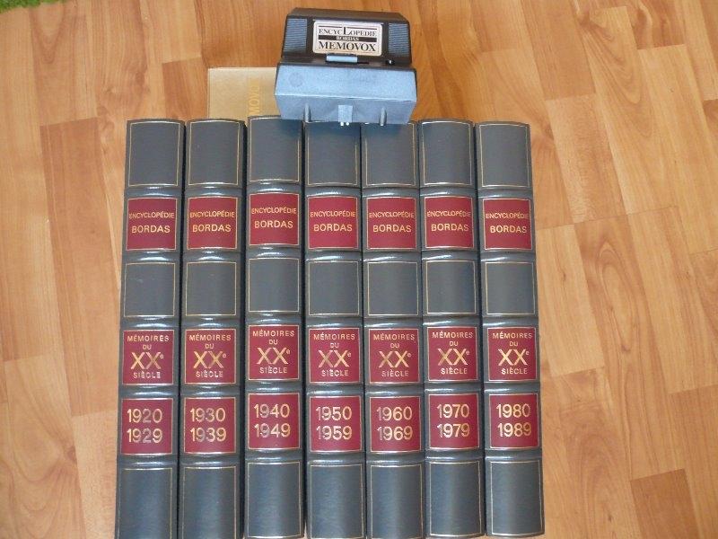 Recyclage, Récupe & Don d'objet : encyclopedie xxème siecle bordas + memovox