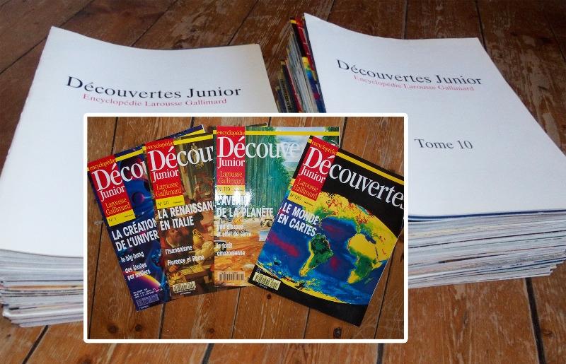 Recyclage, Récupe & Don d'objet : magazines découvertes junior